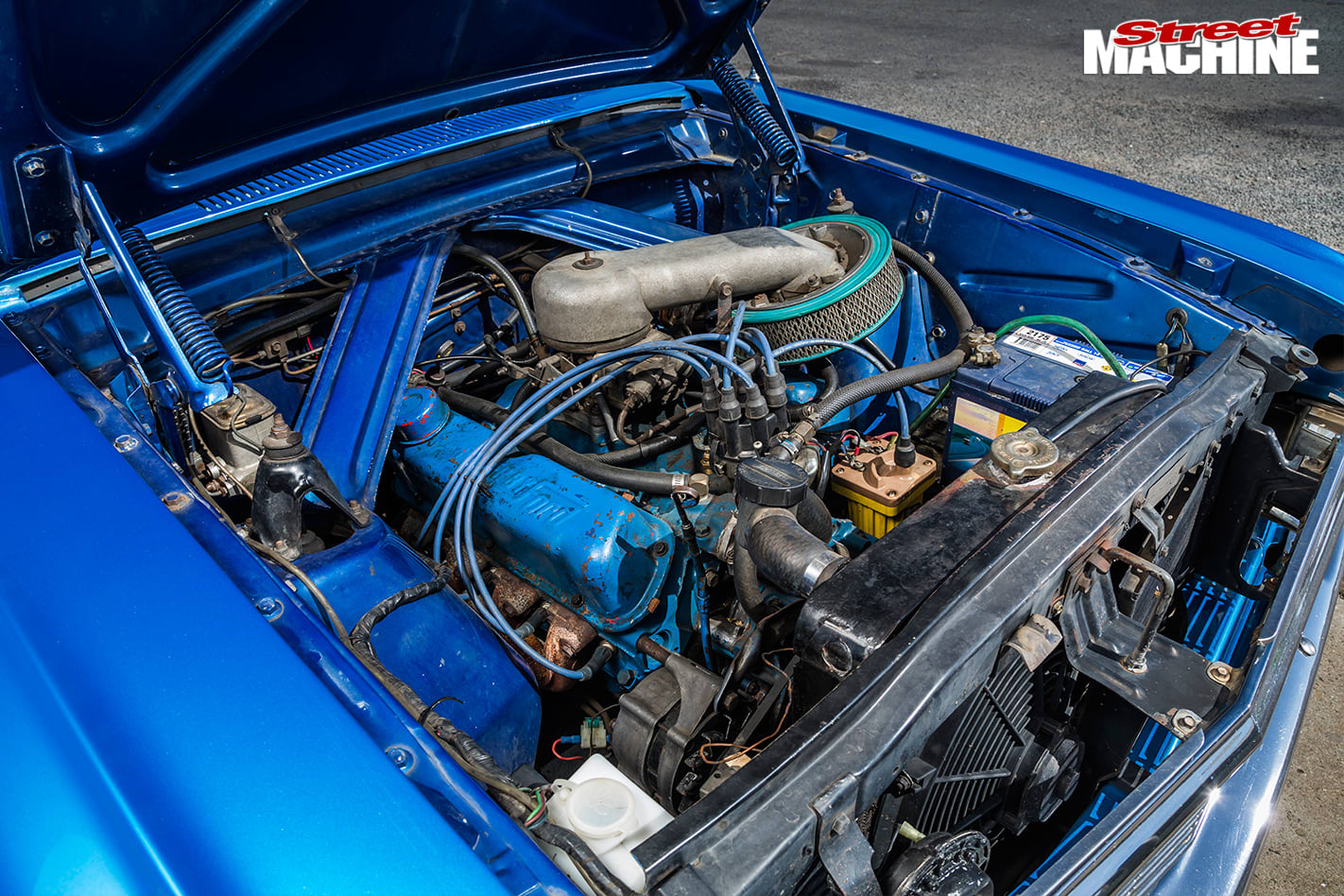 Ford -xp -falcon -engine