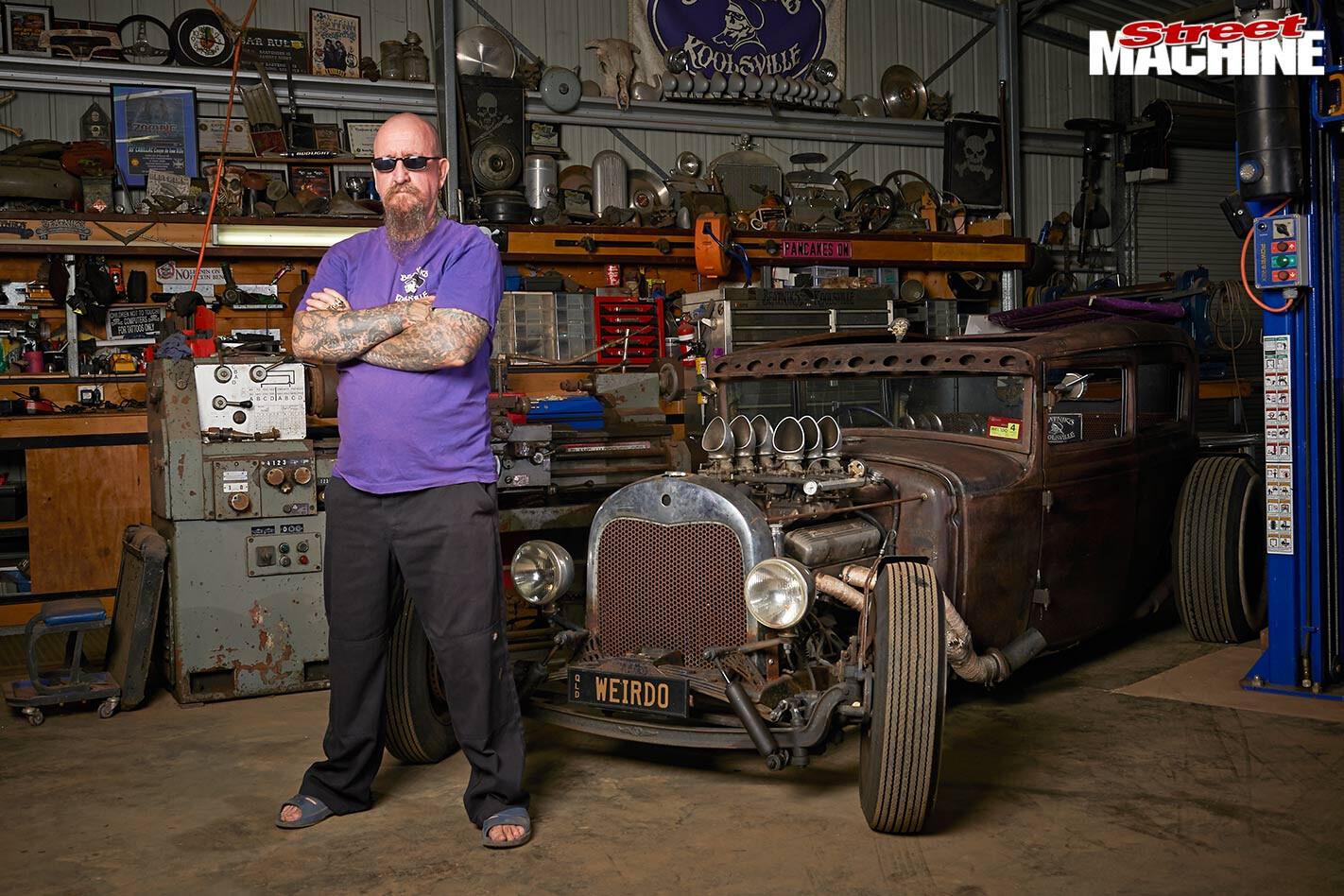 Mark Milliott's cars