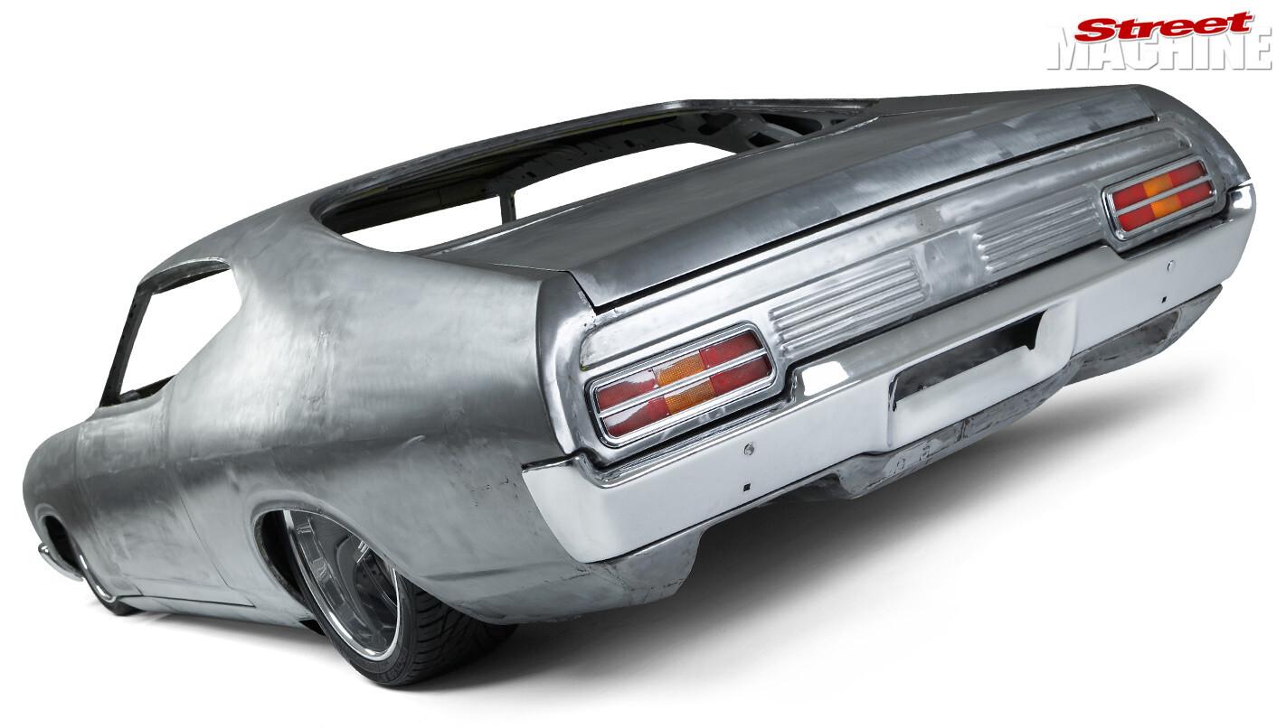Ford Falcon XC build rear