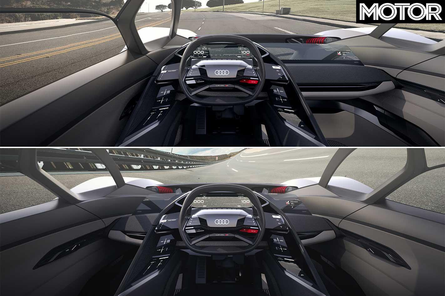 Audi PB 18 E Tron Concept Cockpit Jpg
