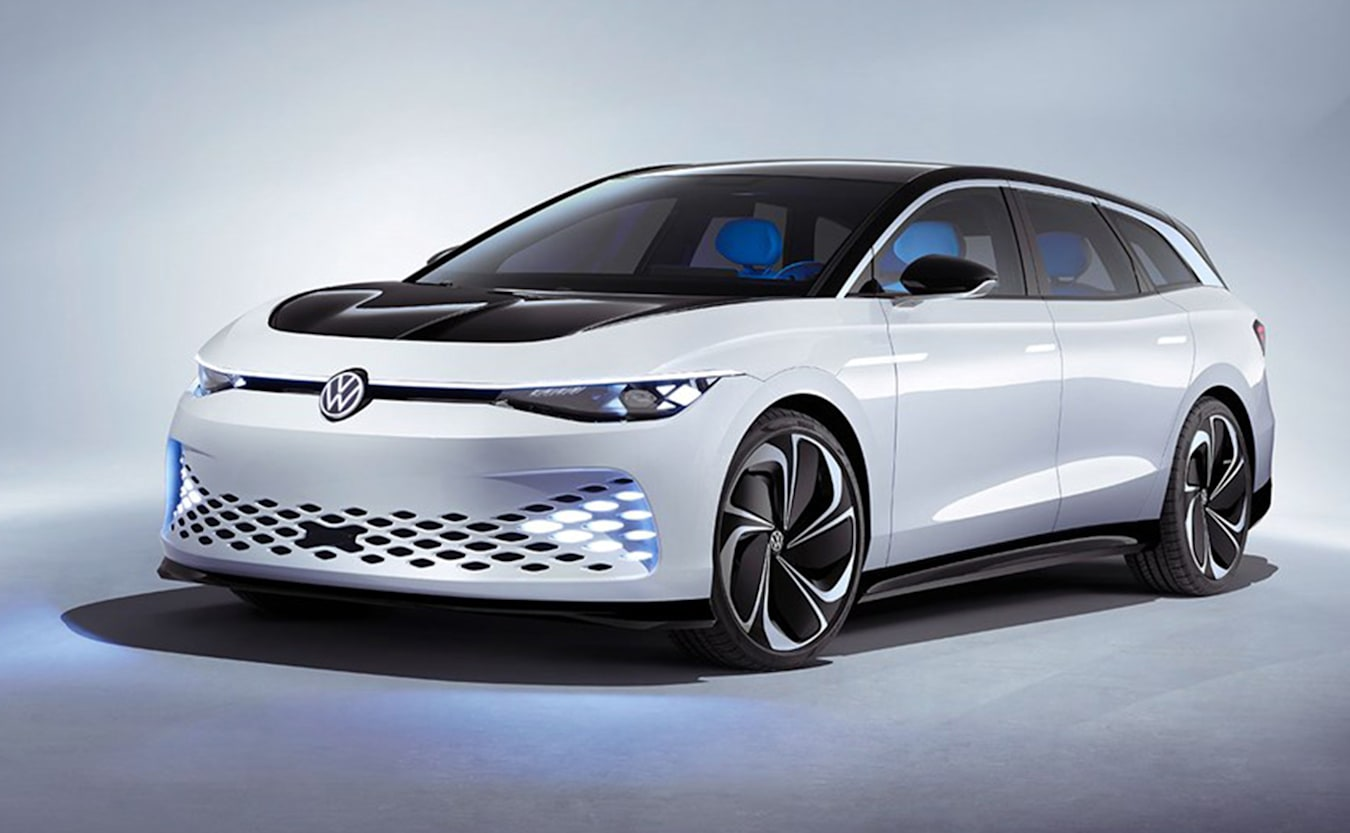 volkswagen id space vizzion