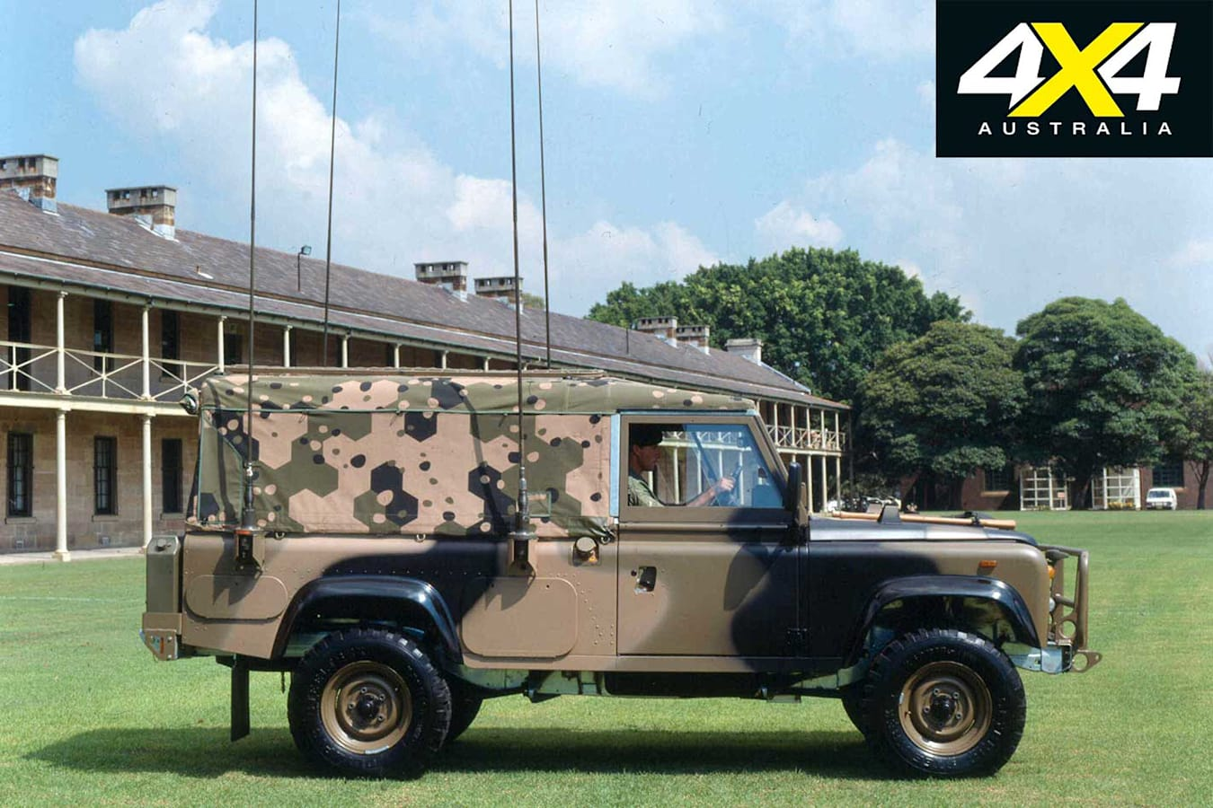 70 Years Of Land Rover Military Land Rover Jpg