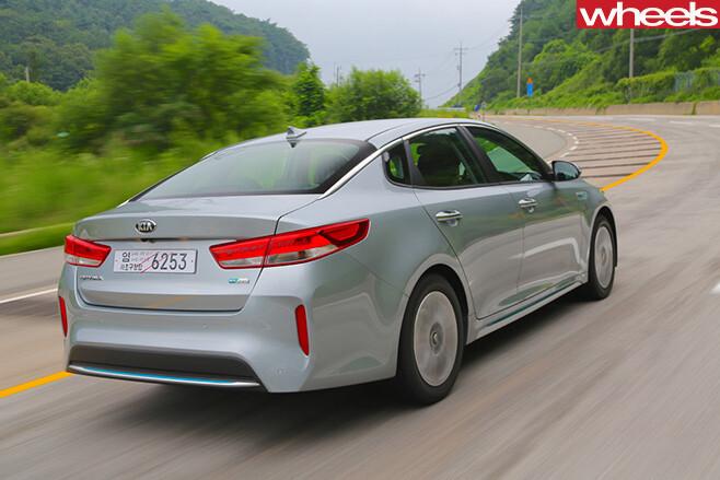 Kia -Optima -rear -side