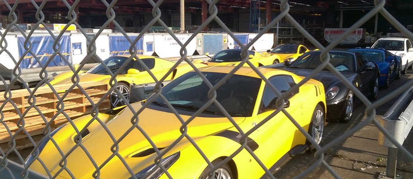 Rare supercars belonging to dictator's family seized