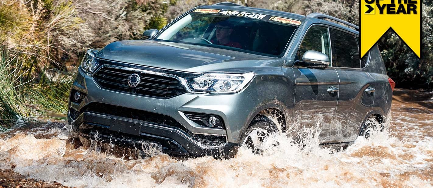 4x4 of the Year 2019 SsangYong Rexton ELX review