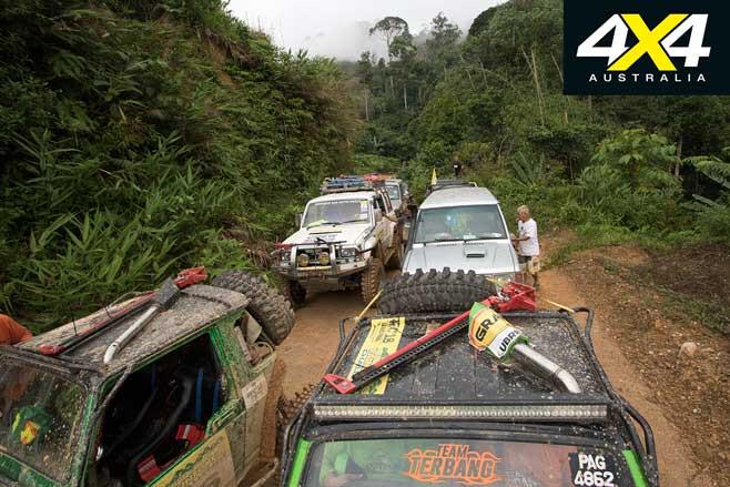 Rainforest Challenge Adventure Tour 2019 4 X 4 Convoy Jpg