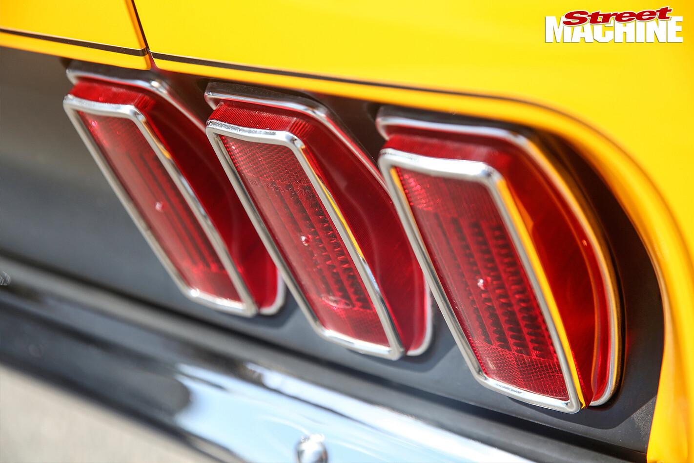 Ford -Mustang -BOSS-rear -taillights