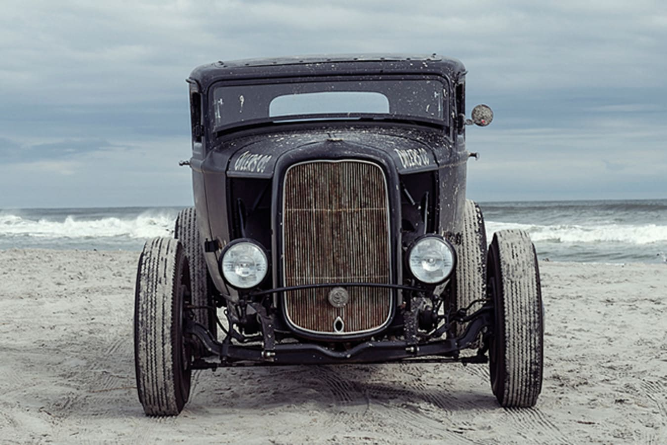 Ford 5 window coupe front