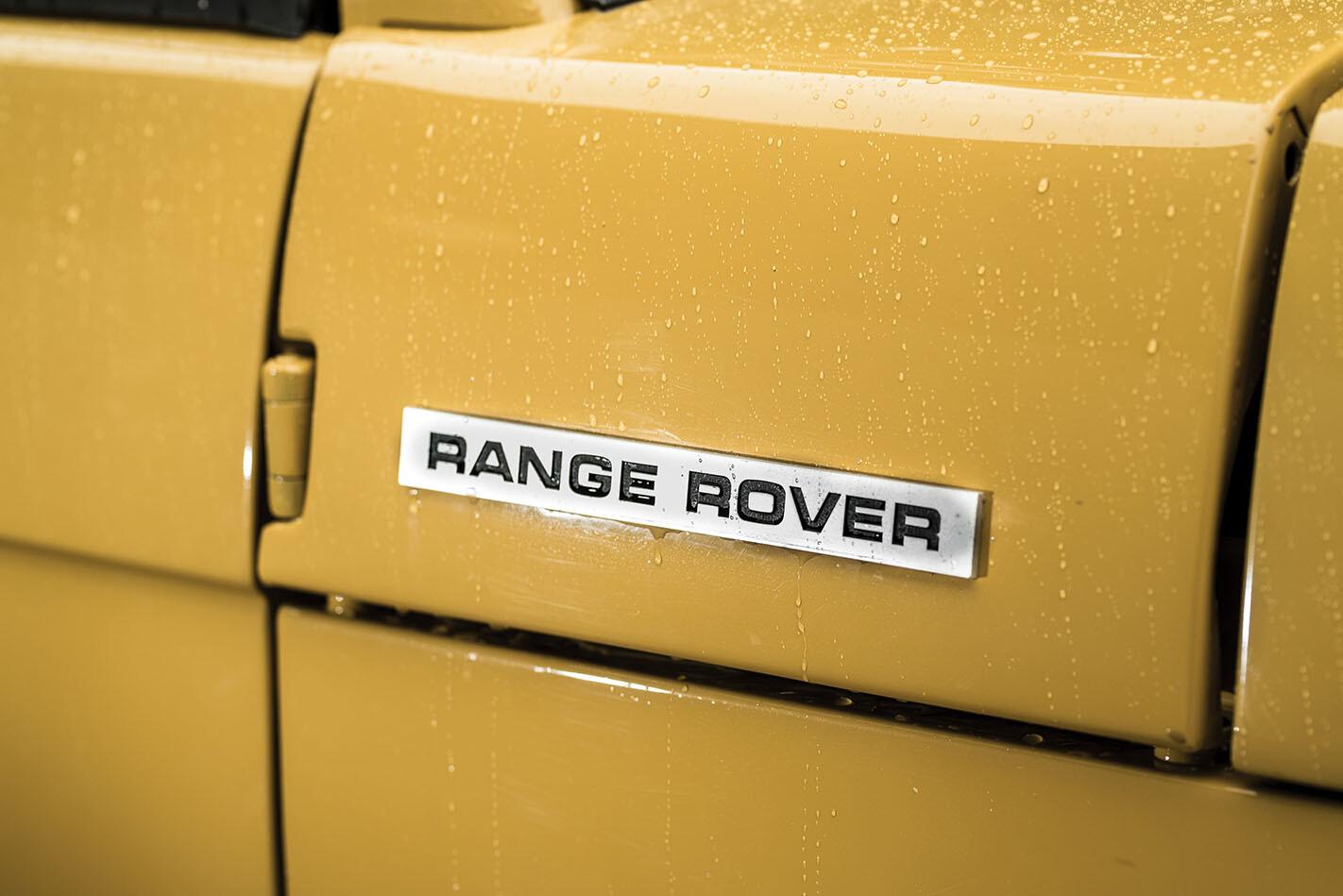 Range Rover badge