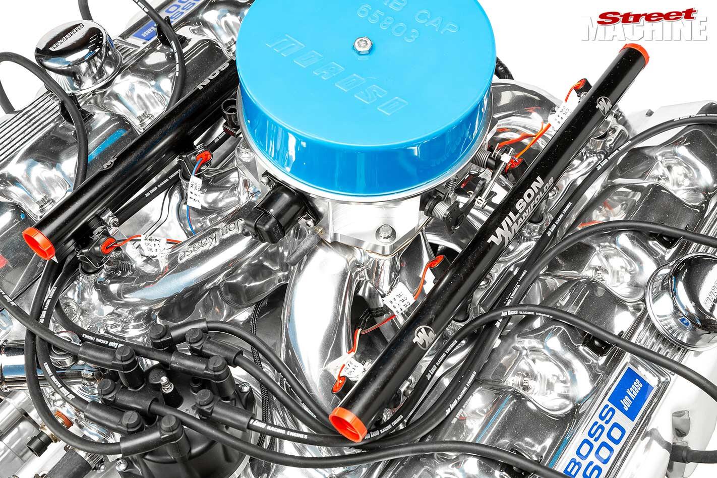 598ci big-block ford engine