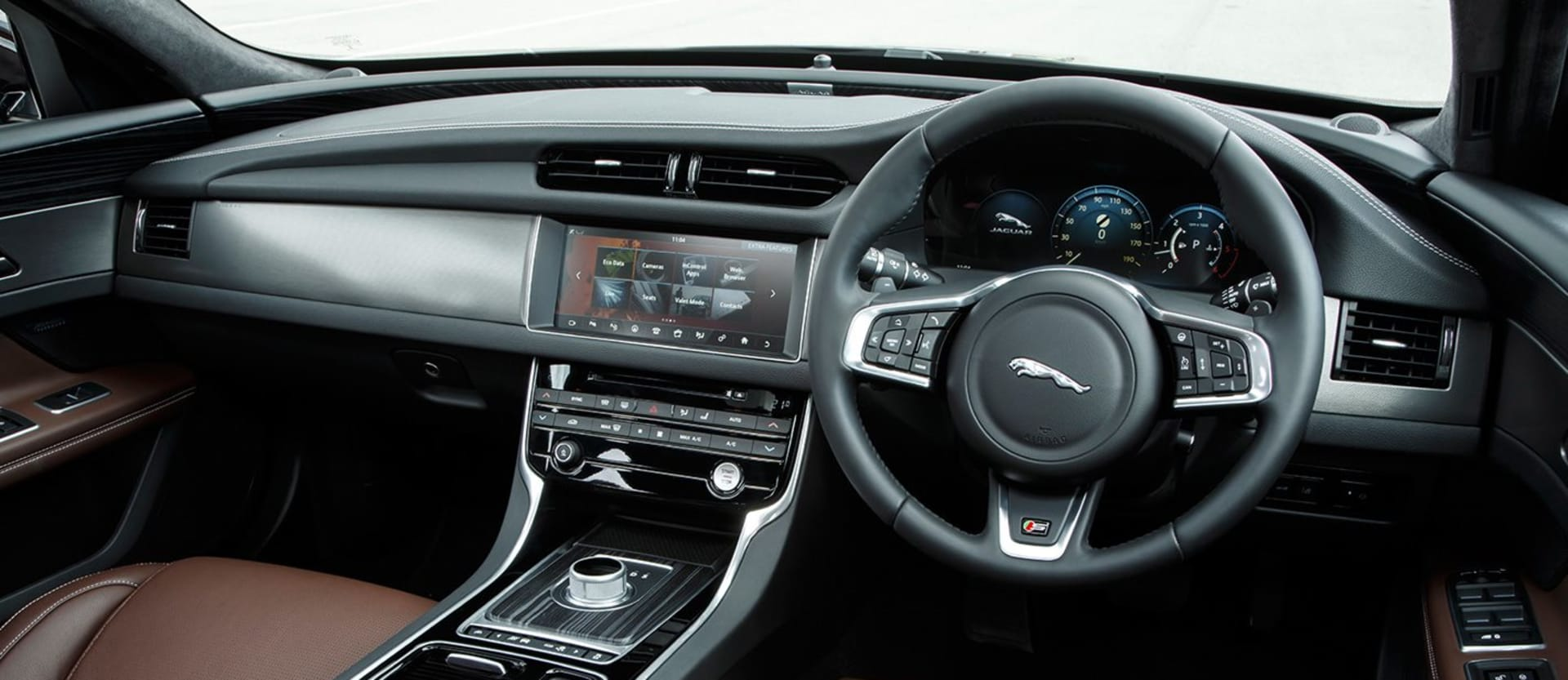 Jaguar's New Touch Screen Technology