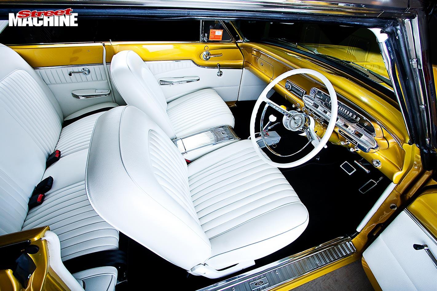 Ford Falcon XP coupe interior front