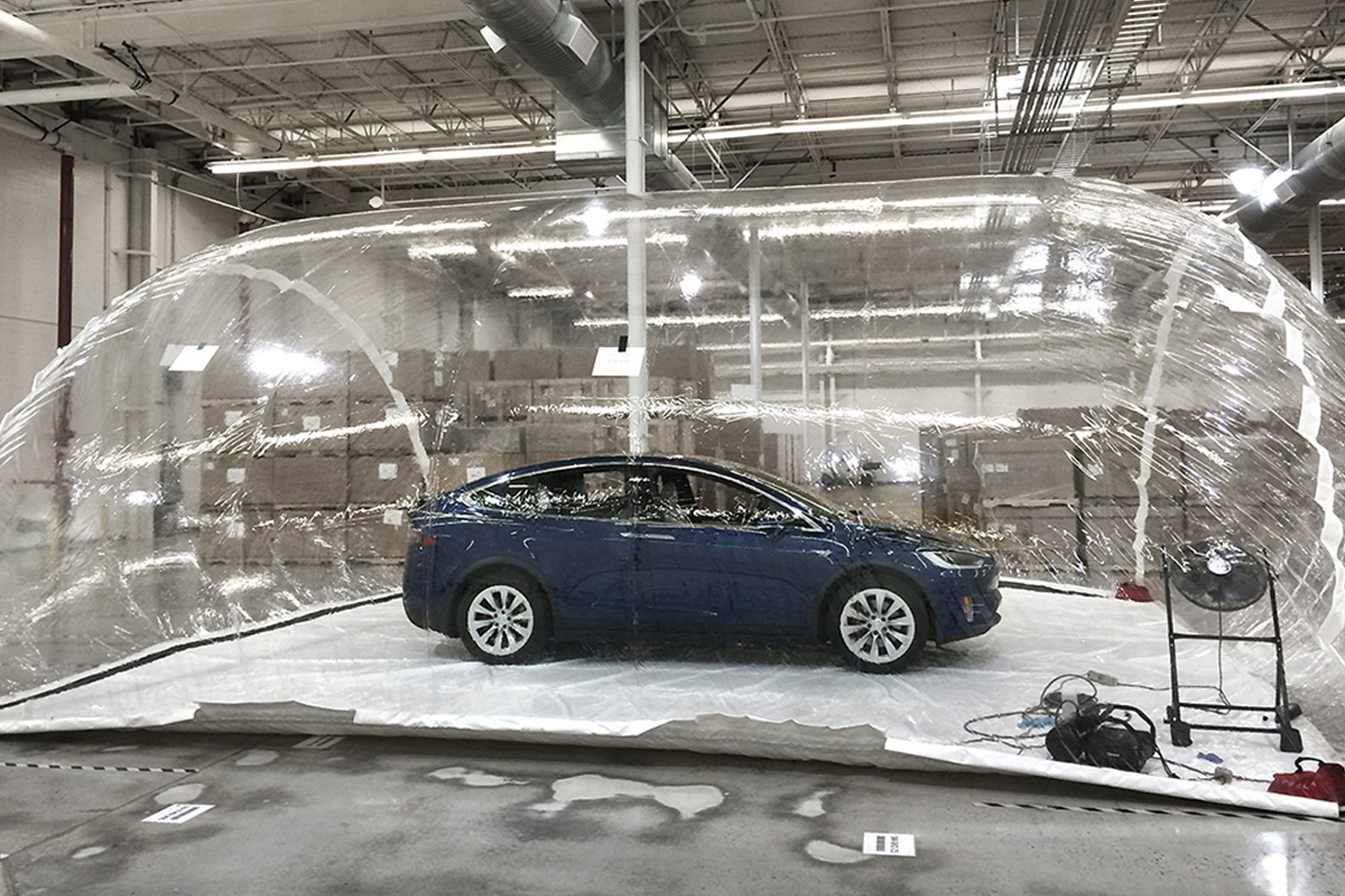 Tesla Bioweapon Defence testing