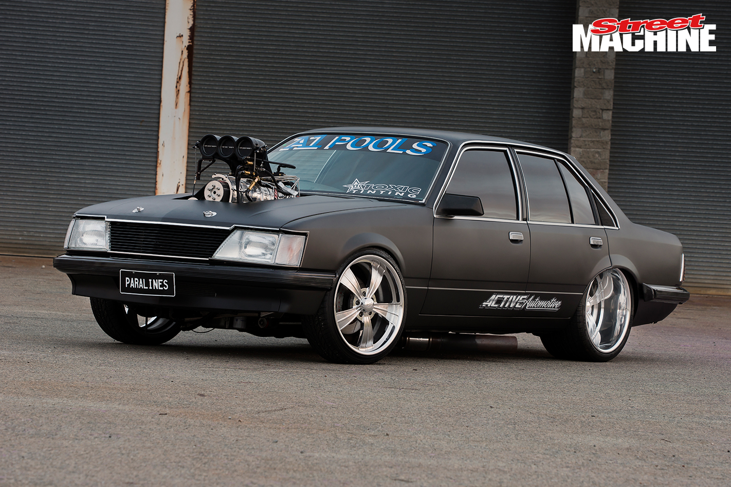 VH Commodore Burnout PARALINES 5 Nw