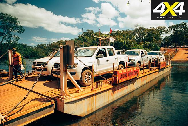 Jardine river ferry