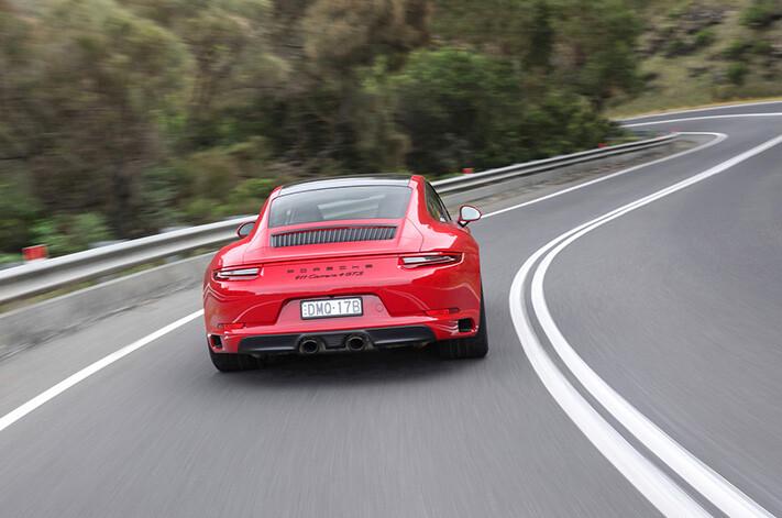 Porsche 911 Gts Coupe Action Jpg