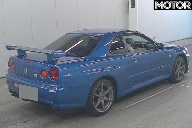 Nissan Skyline GT R V Spec II Rear Jpg