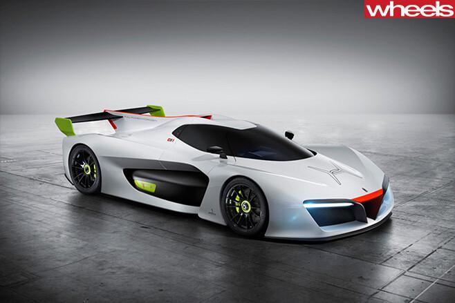 Pininfarina -Hydrogen -H2-Speed -front -side