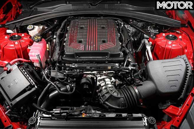 2019 Chevrolet Camaro ZL 1 LT 4 Engine Jpg