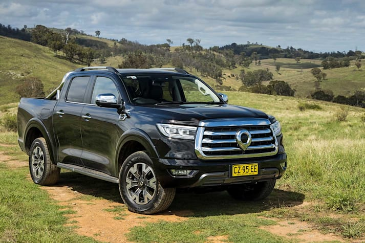 GWM Ute Cannon-L off-road review