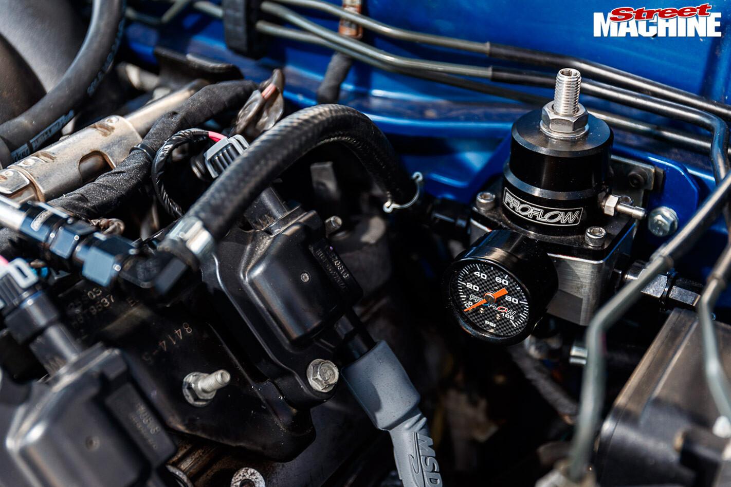 Mazda RX7 engine bay