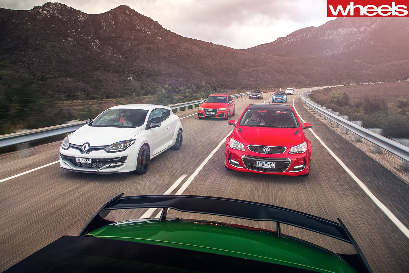 Performance -cars -driving --Isle -of -Right -in -Tasmania