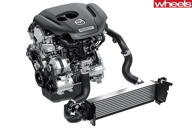 Mazda -Skyactiv -engine