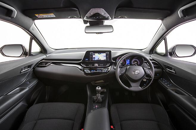 2017 Toyota CH-R interior