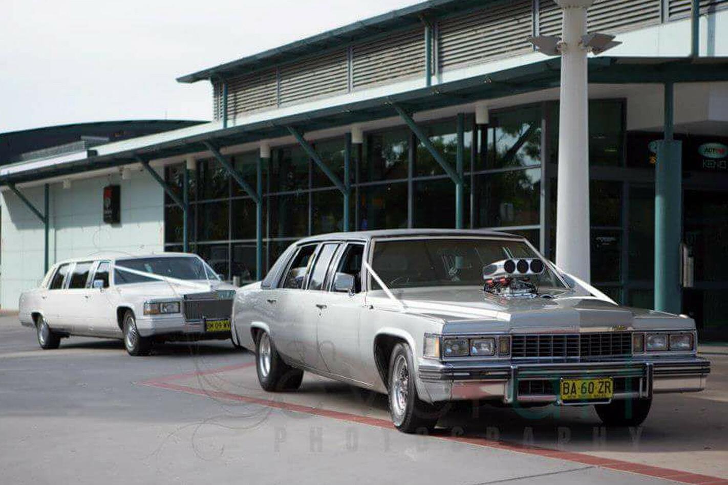 Andrew Watters wedding car