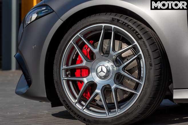 2020 Mercedes AMG A 45 S Wheel Jpg