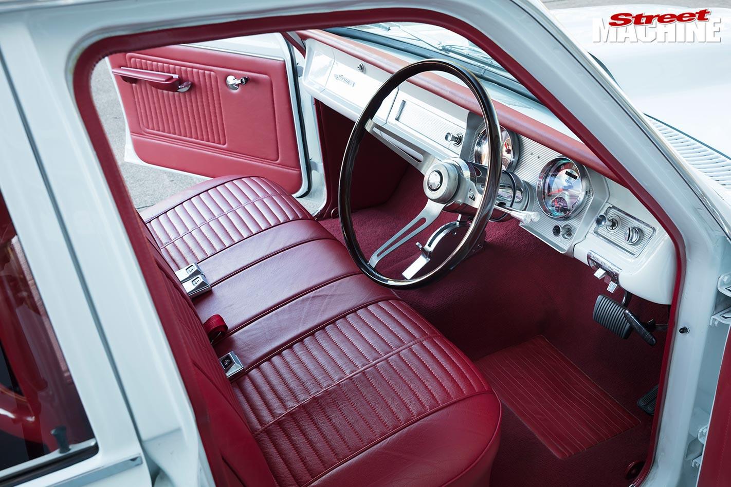 Holden HR interior