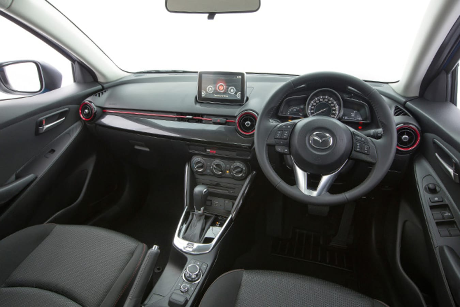 Mazda 2 Interior Dashboard
