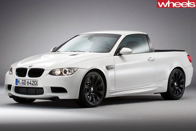 BMW-M3-utility -front -side