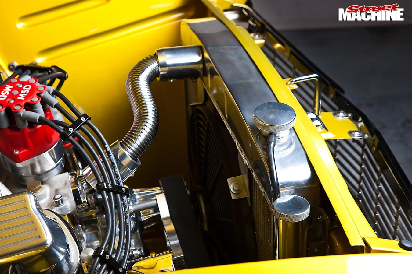 Ford Falcon XP coupe radiator