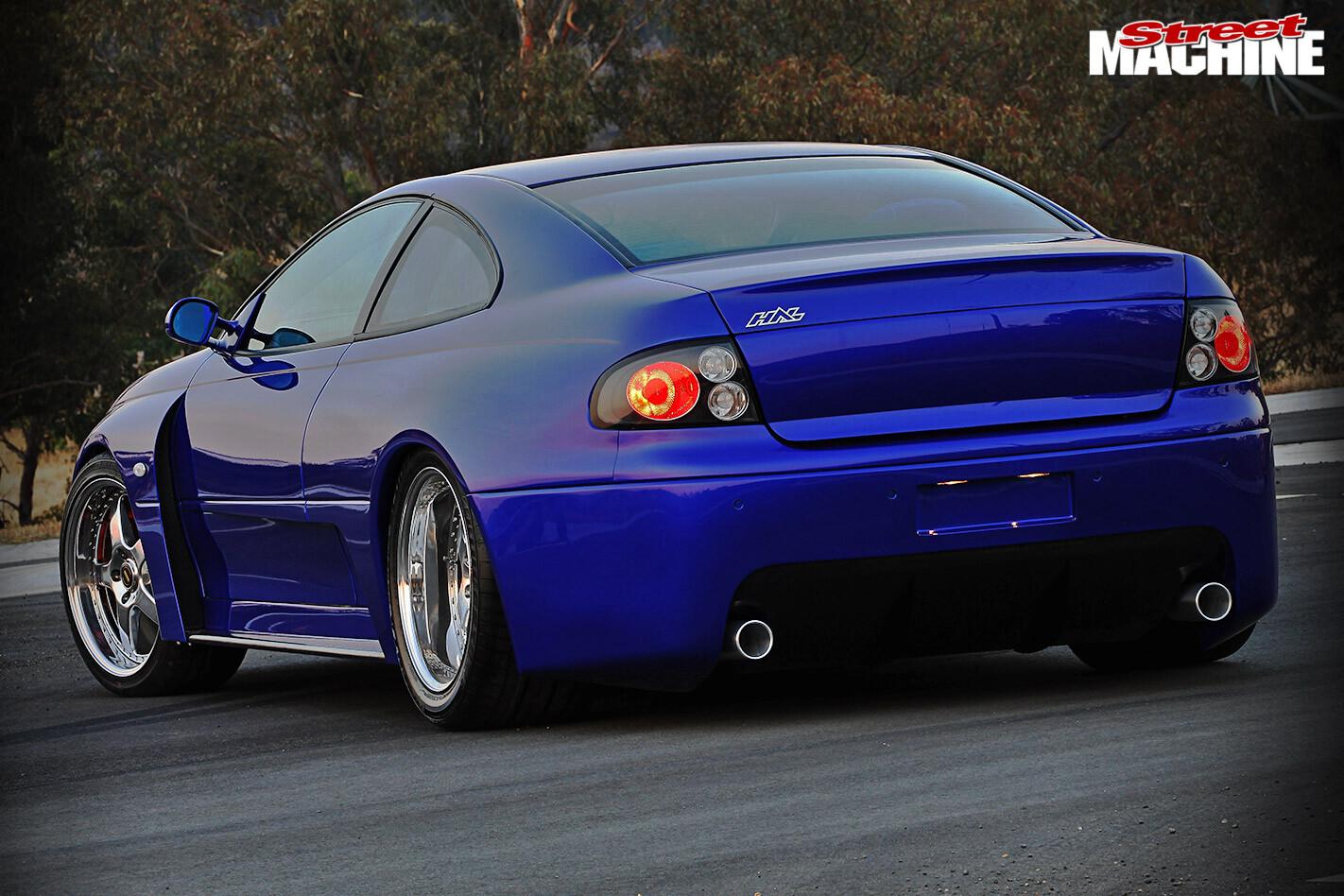 HSV GTO rear
