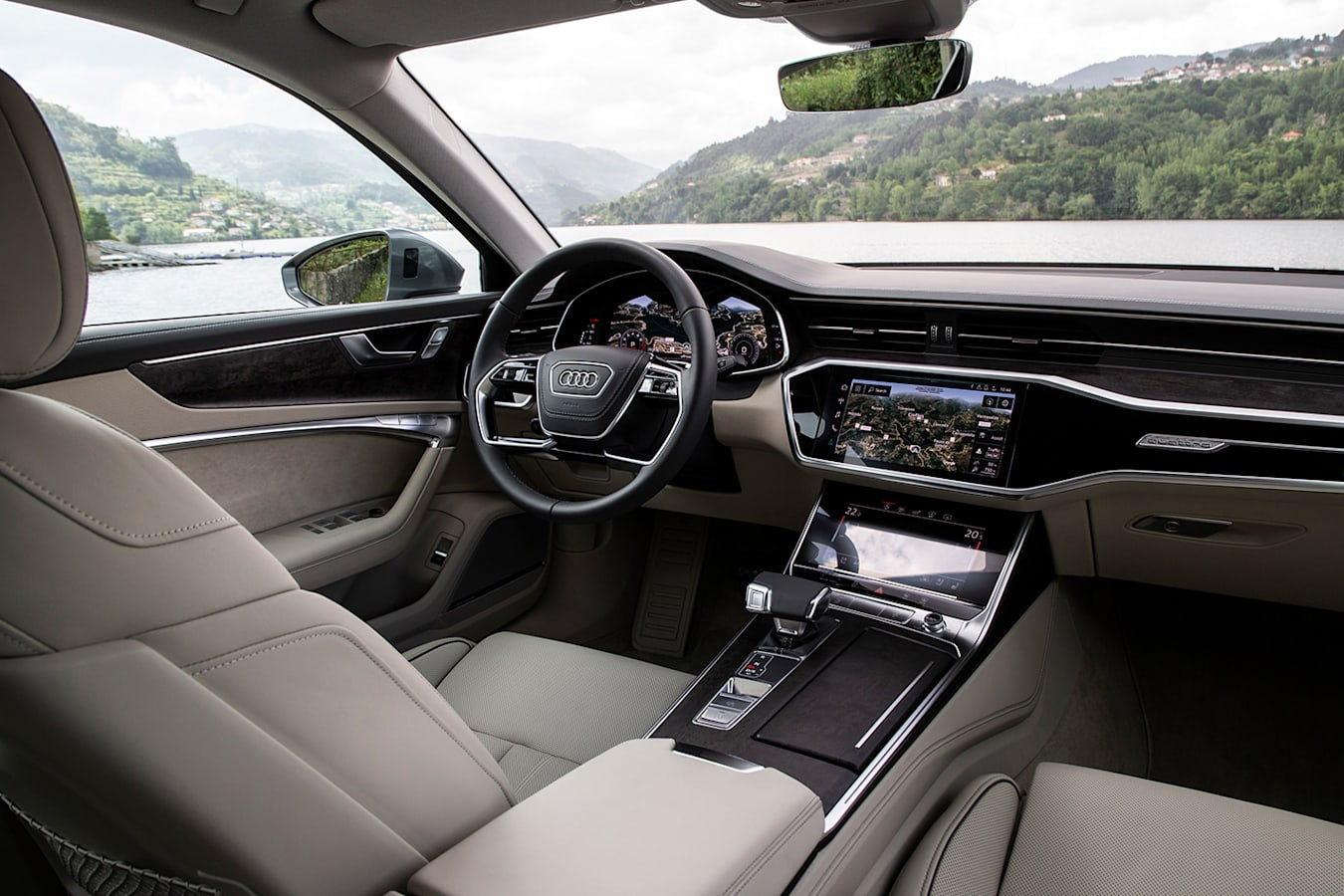 Audi A 6 Interior Lake Jpg