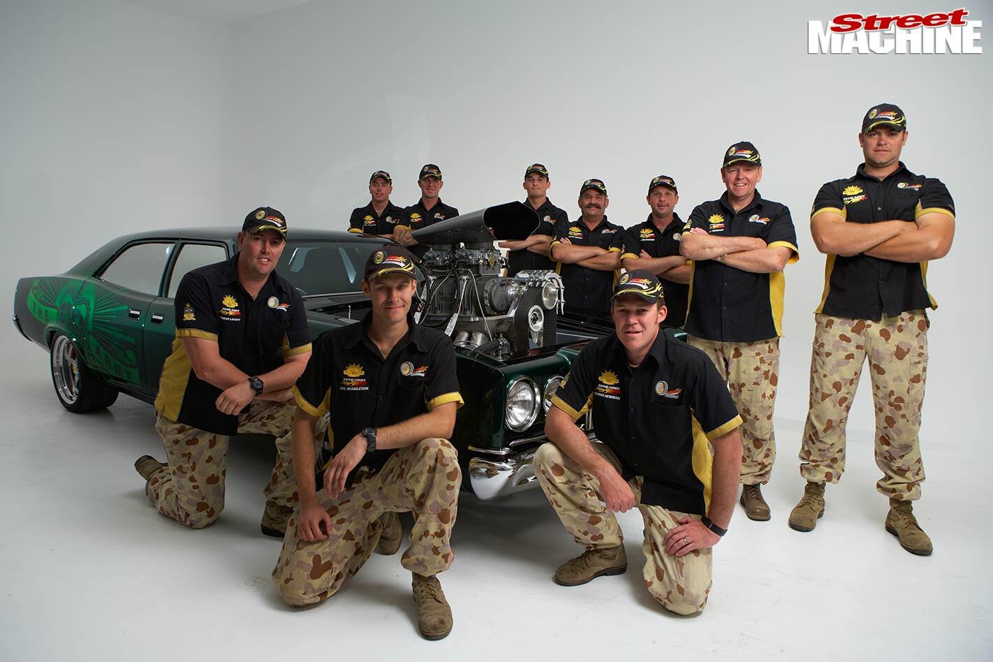 Australian Army group shot
