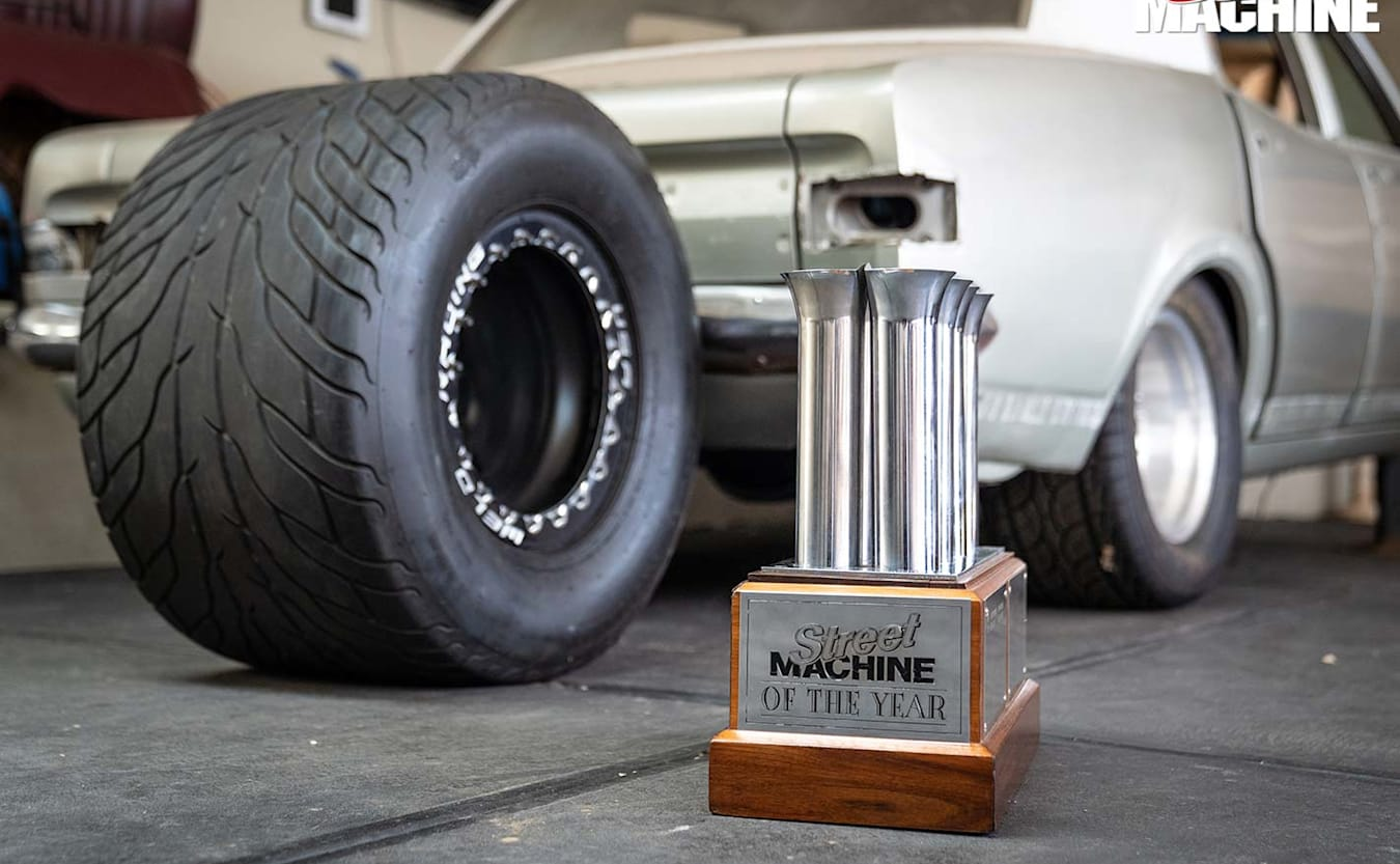 Street Machine of the year trophy