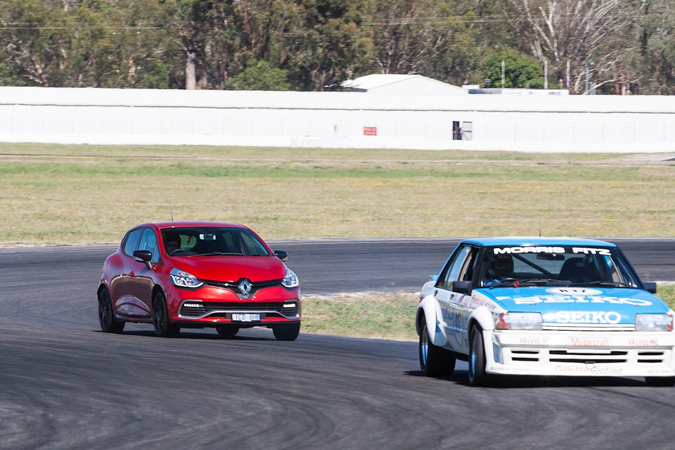 Renault Clio RS at Winton