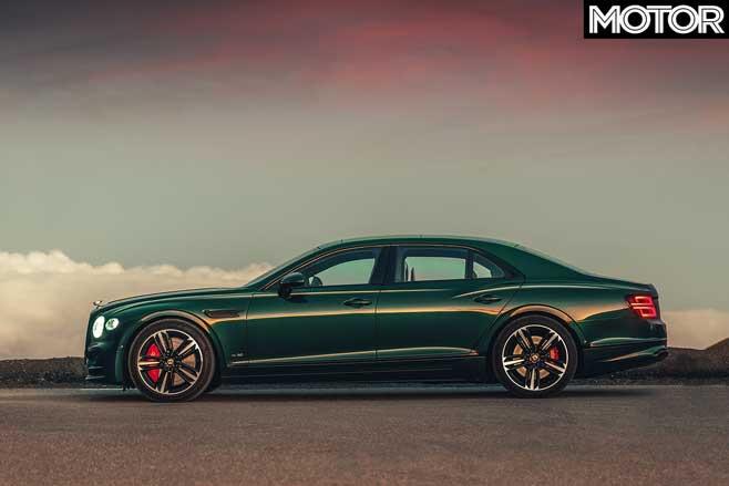 Bentley Flying Spur Side Jpg