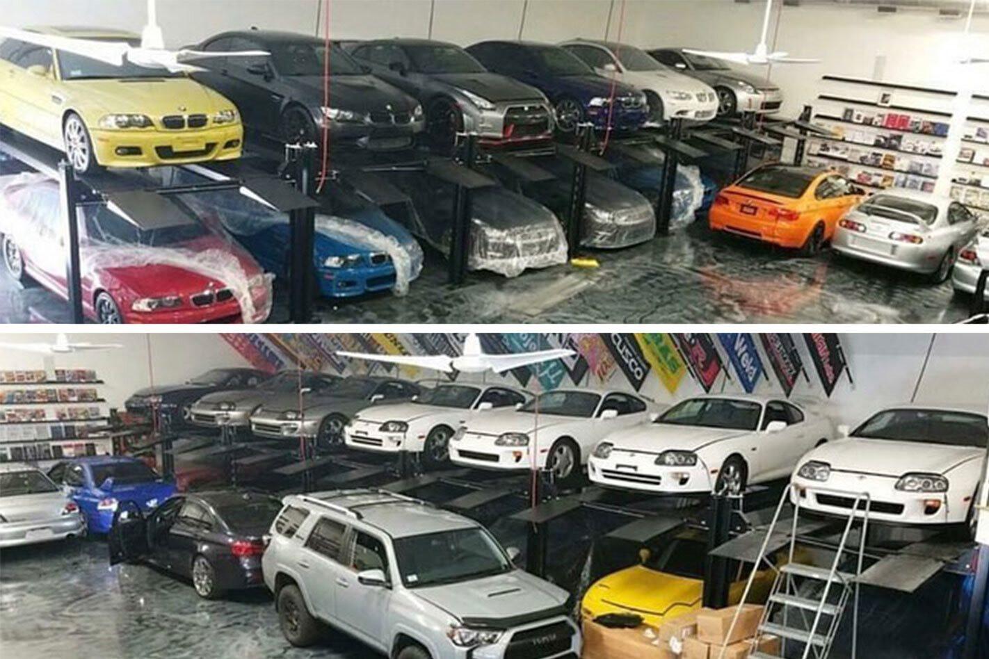 Modern classic cars found during police raid