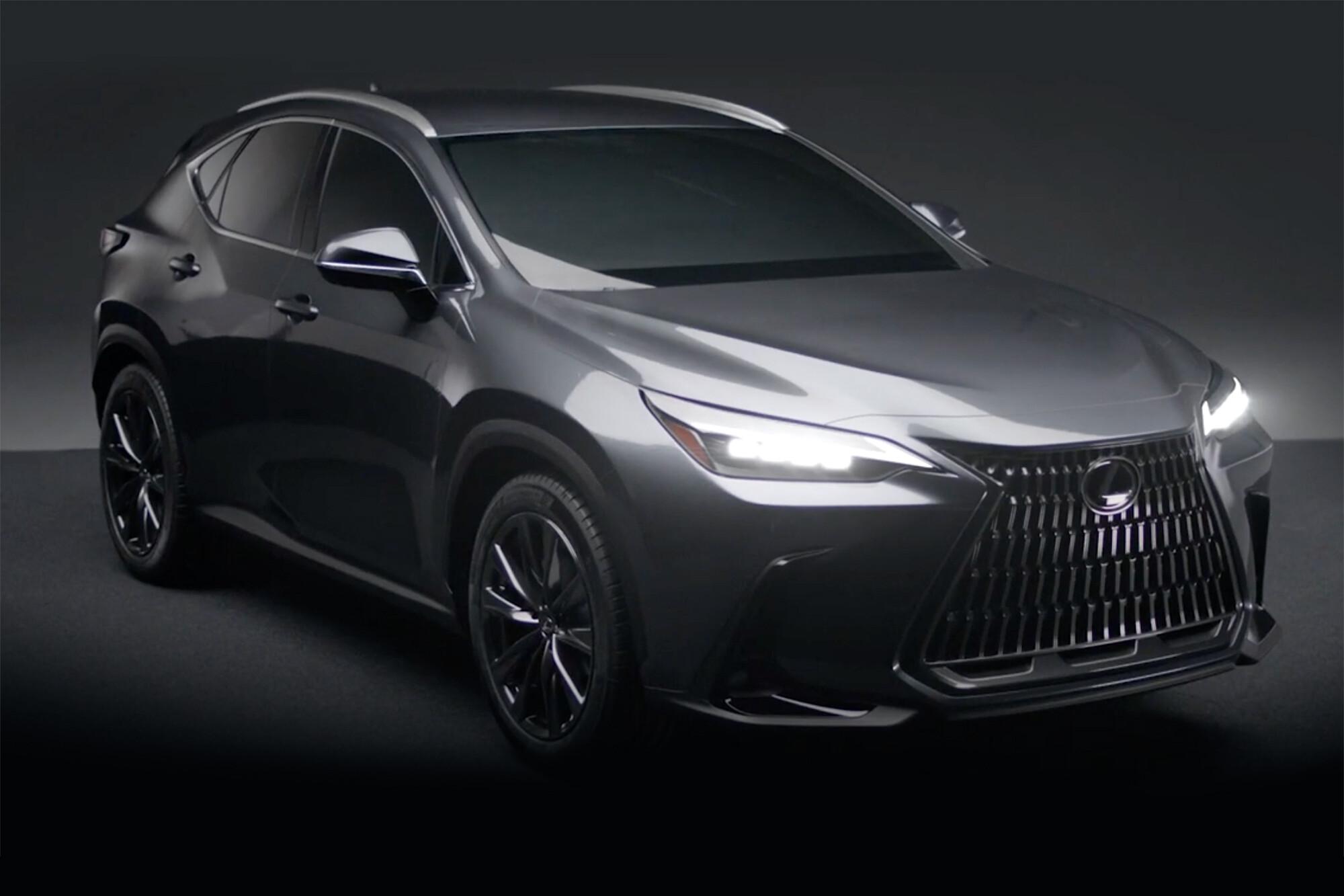 2022 Lexus Nx Suv Revealed 07 Jpg