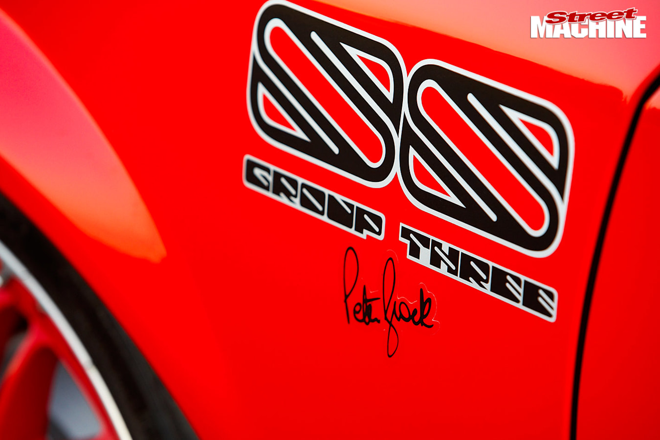 Holden VH Commodore SS Group 3 decals