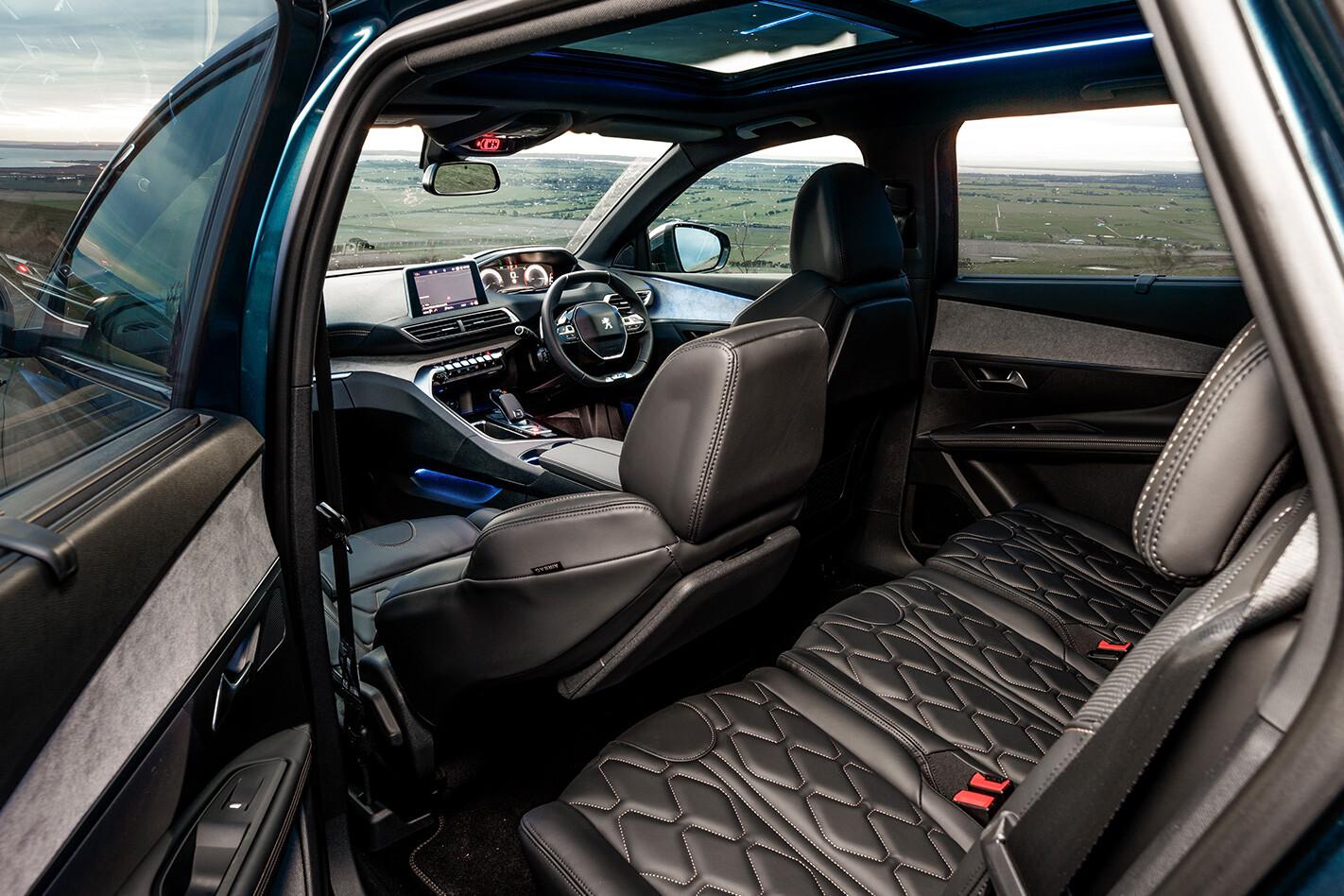 Seven Seat Suv Peugeot Interior Jpg