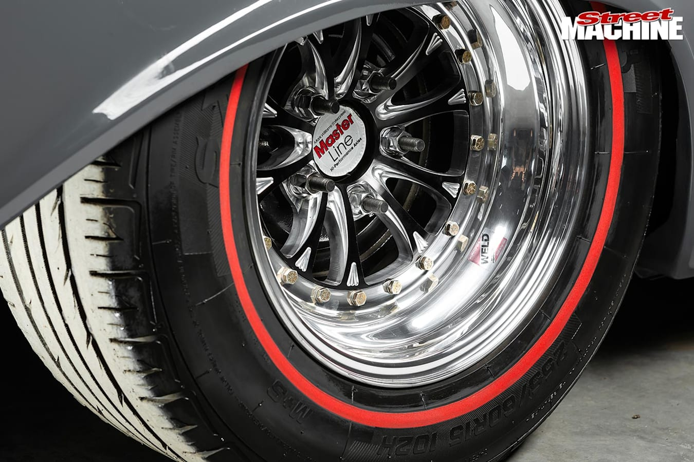 Holden EH wheel