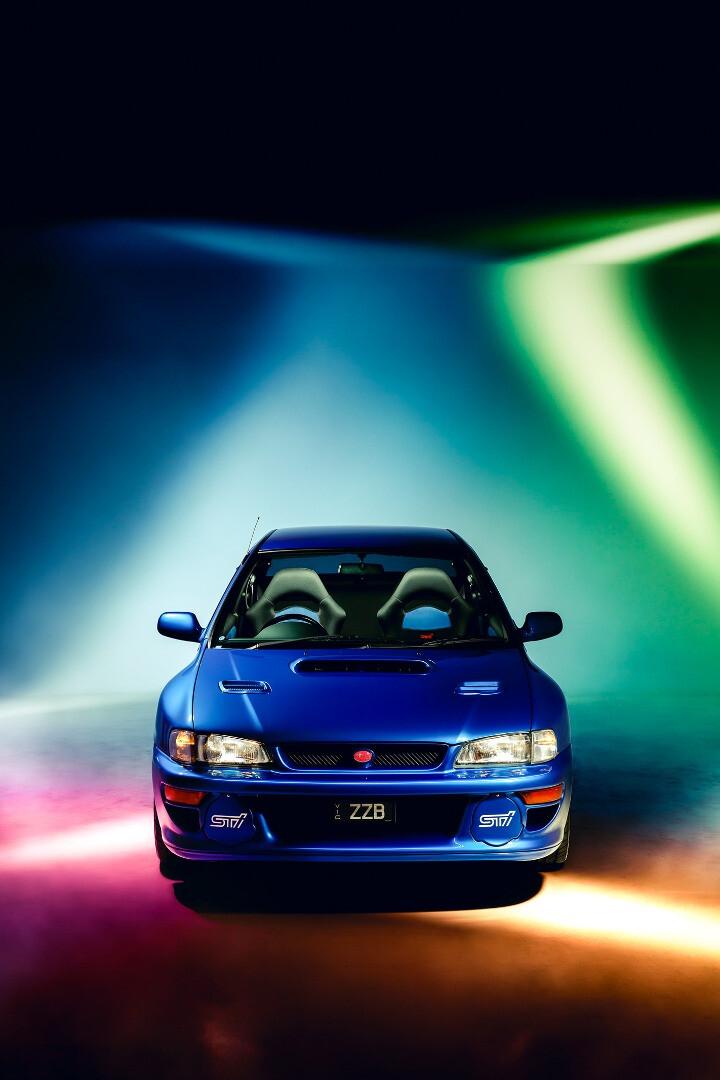 1998 Subaru Impreza WRX 22B-STi Version front