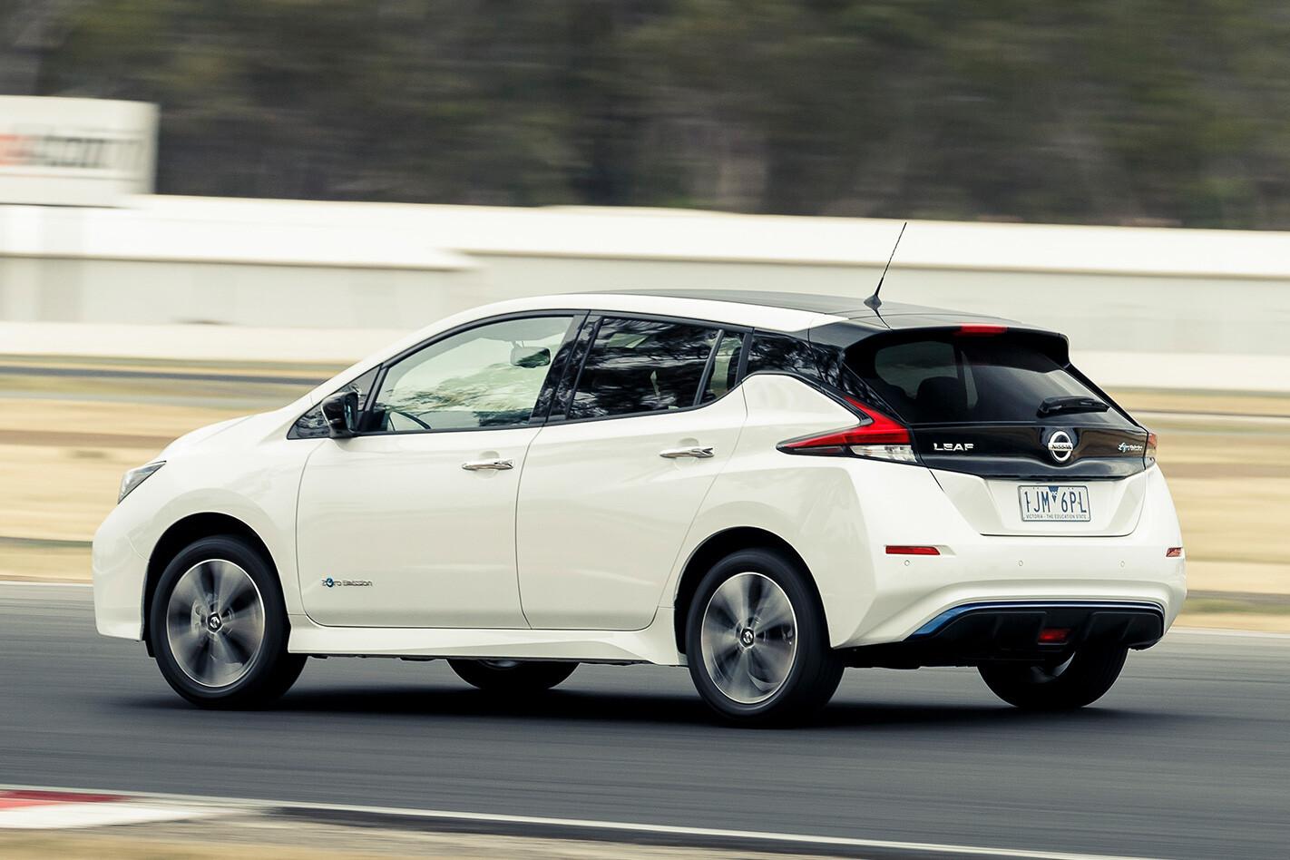 Nissan Leaf Rear Jpg