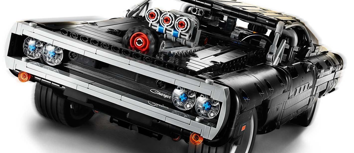 Lego Technic Fast & Furious Dodge Charger revealed