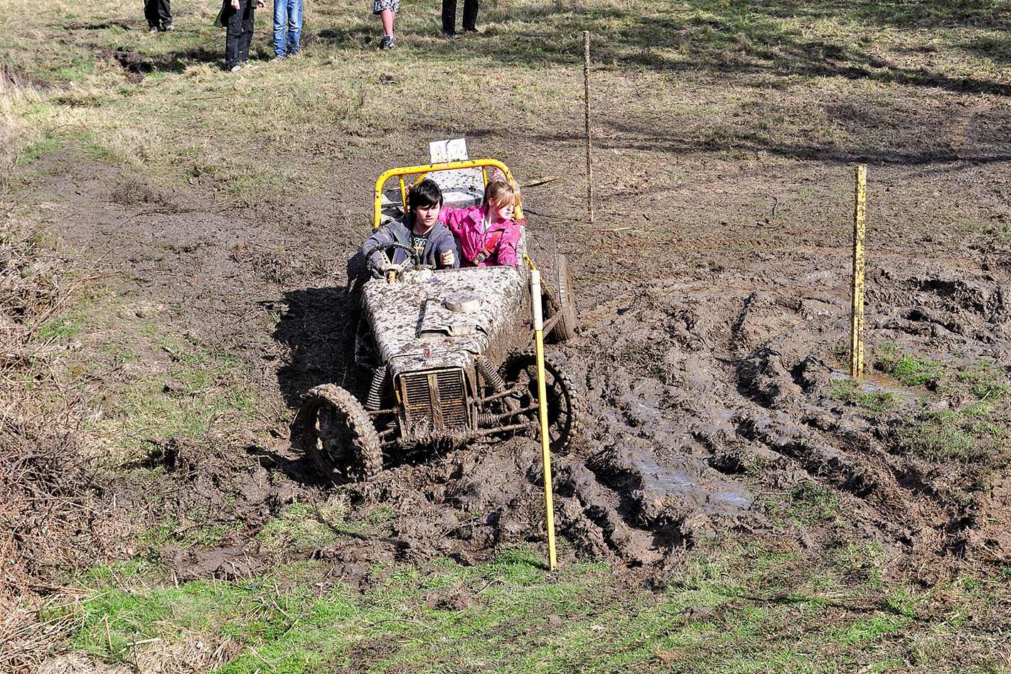 Mud trails