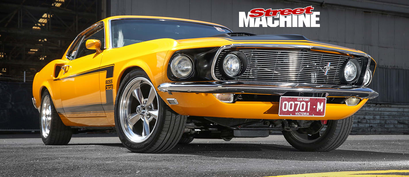 RESTOMOD PRO TOURING 1969 FORD MUSTANG FASTBACK